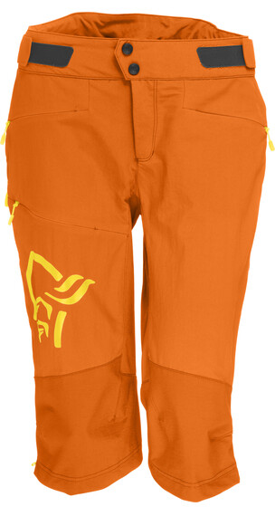 Norrøna W's Fjørå Flex1 Shorts Pure Orange